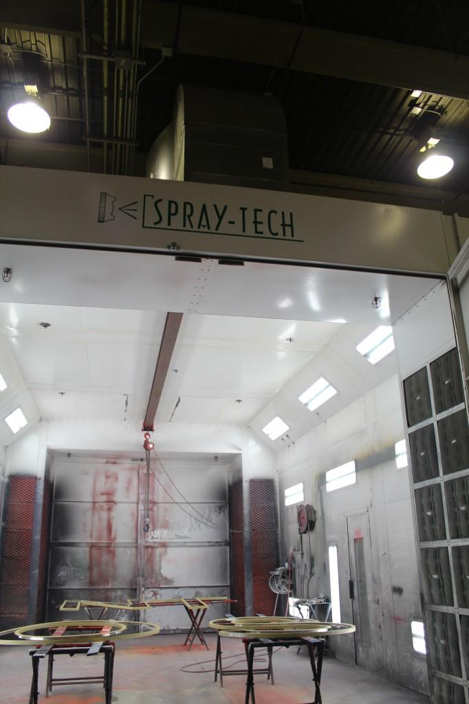Vacuum Ventilation for Spray Booth