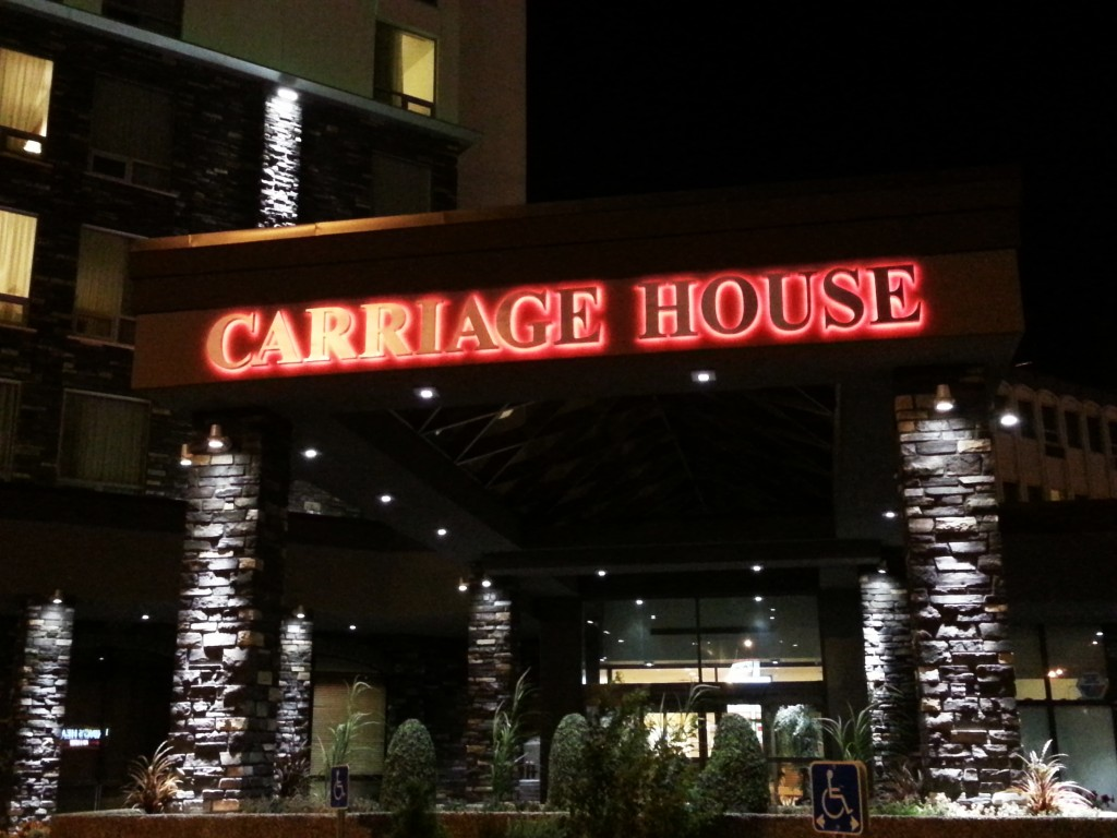 Marquee Carriage House Sign