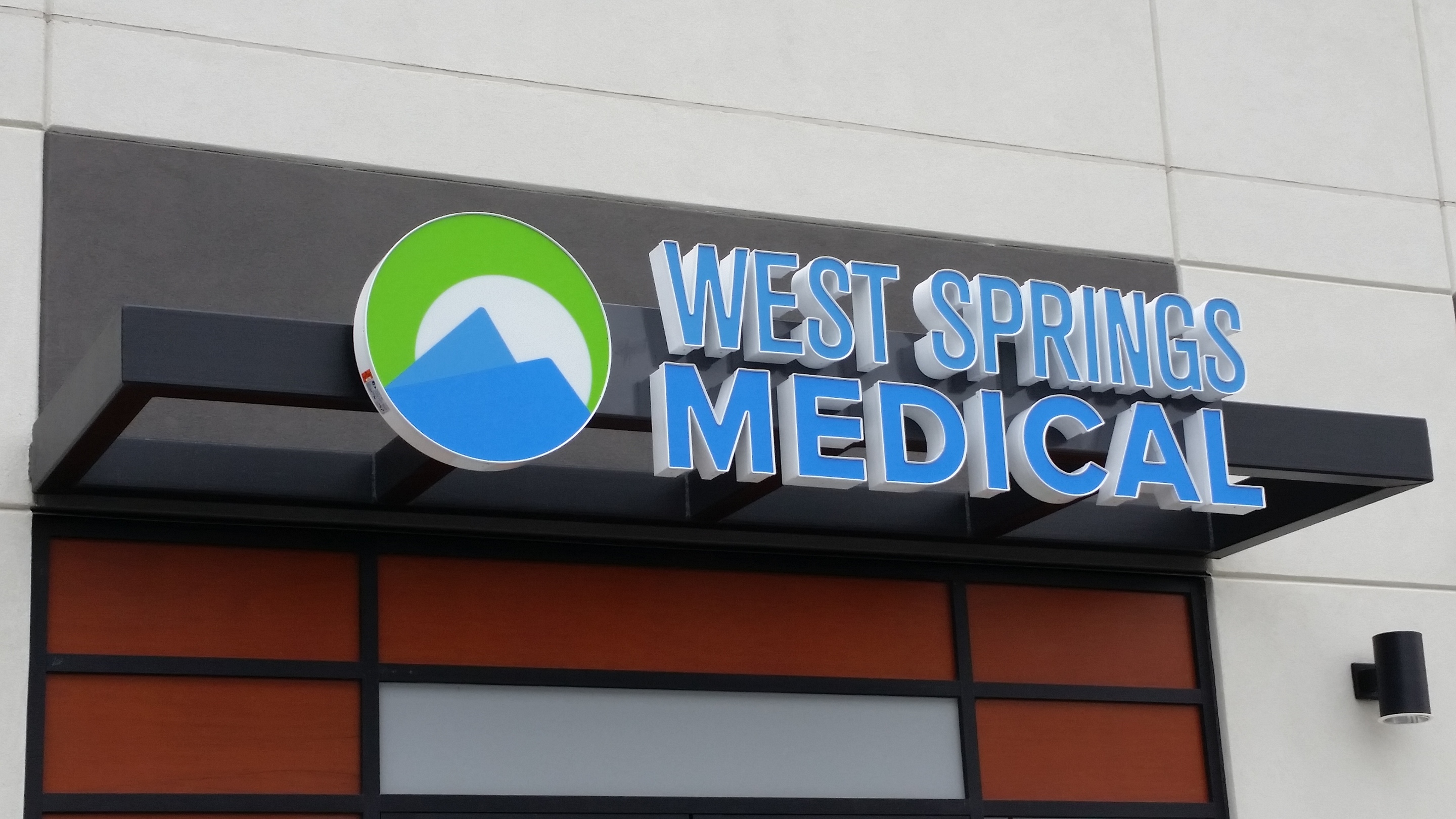 west hills medical LED channel sign