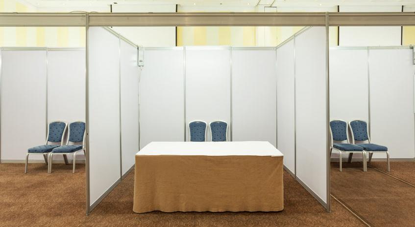 Trade Show Booth Edmonton : Empty trade show booth topmade calgary & edmonton