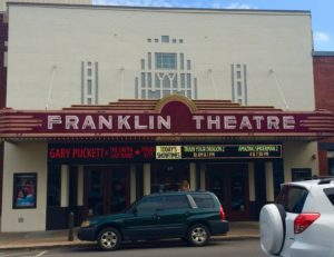 Franklin Theatre Marquee Sign